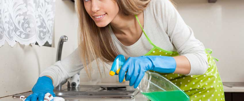 How to freshen up your home with cleaning